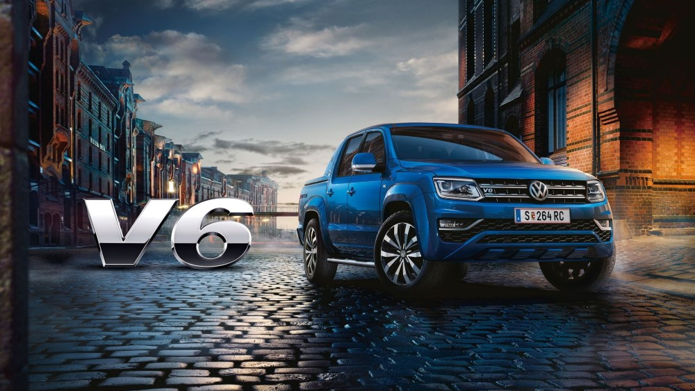 2020 VW Amarok V6 Diesel Engine Performance