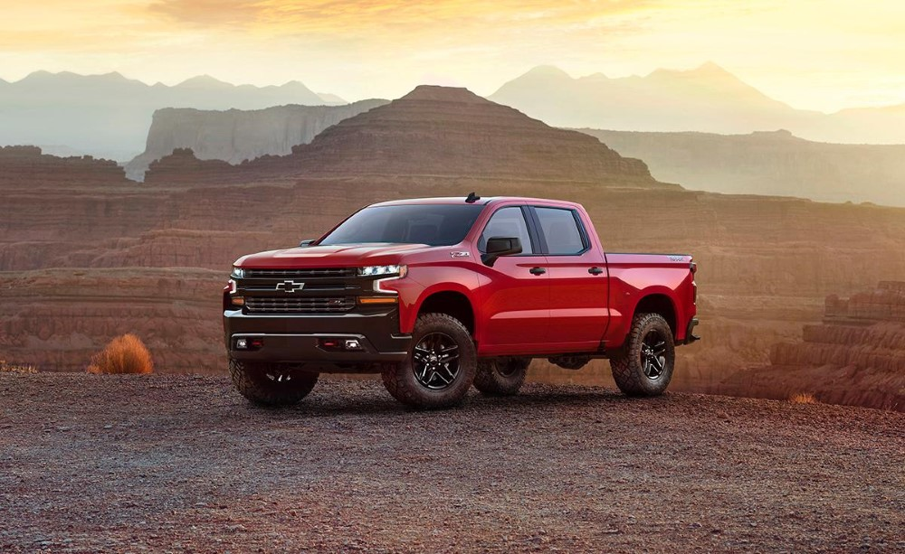 2020 Chevrolet Silverado Trail Boss Redesign