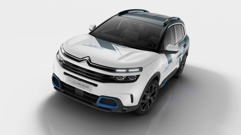 2020 Citroen C5 Aircross Hybrid Gas Mileage