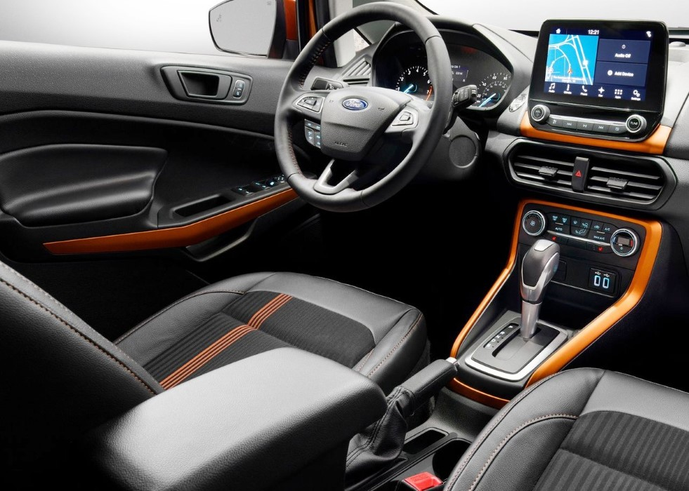2020 Ford EcoSport Interior Dimensions