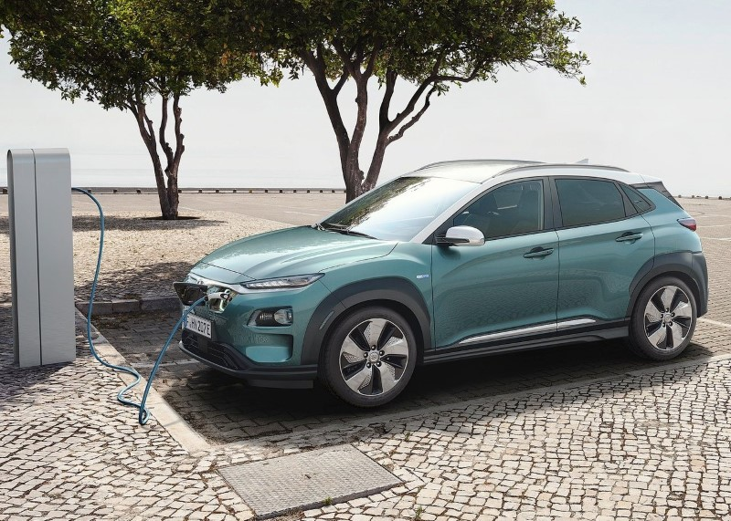 2020 Hyundai Kona Electric Charging Time