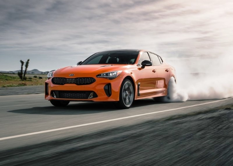 2020 KIA Stinger GT Engine Performance