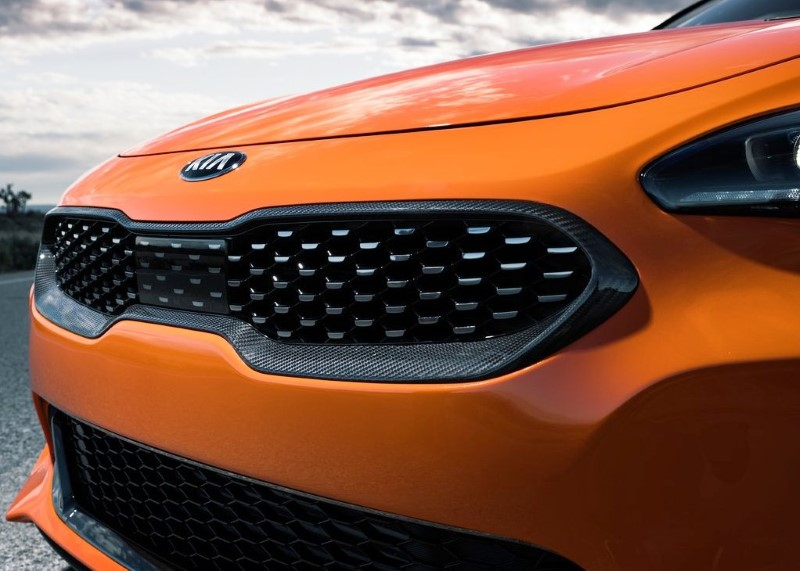 2020 KIA Stinger New Grill Design