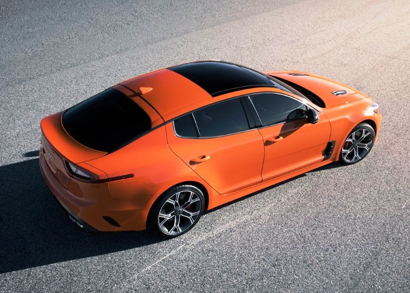 2020 KIA Stinger Orange Color