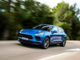 2020 Porsche Macan Blue Color Hybrid