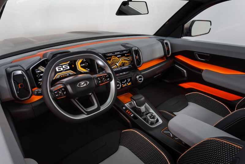 2020 LADA 4X4 Vision Dashboard Pictures