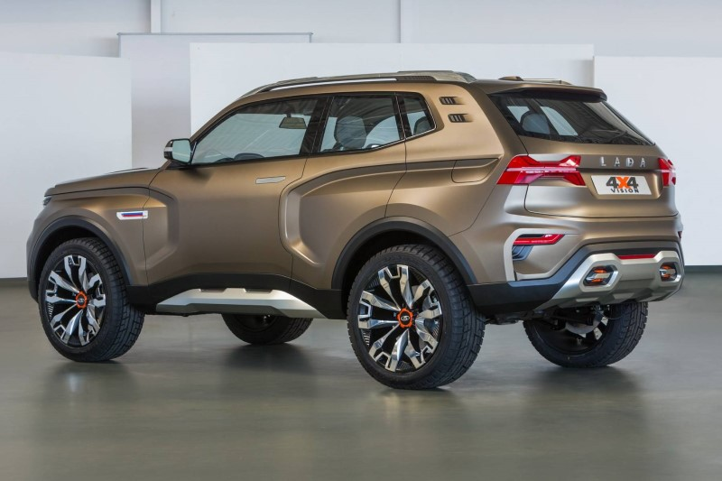 2020 LADA 4X4 Vision Hybrid SUV From Russia