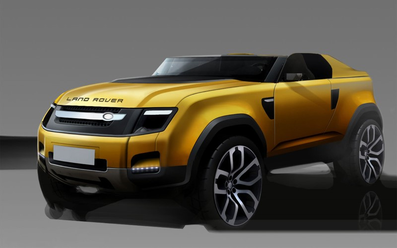 2020 Land Rover Defender Concept Design For Future