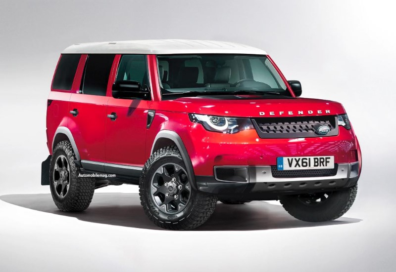 2020 Land Rover Defender Specifications