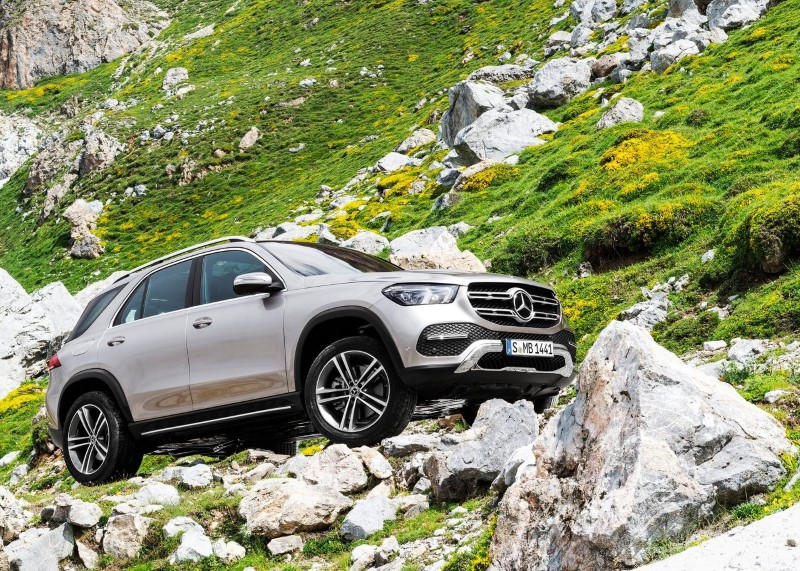 2020 Mercedes GLE 4X4 AWD SUV Review