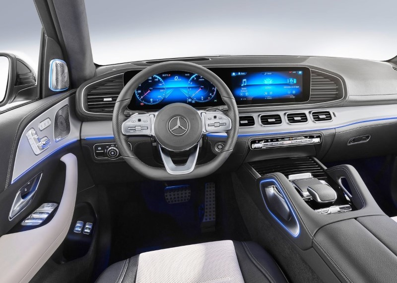 2020 Mercedes GLE MBUX Infotaiment Review
