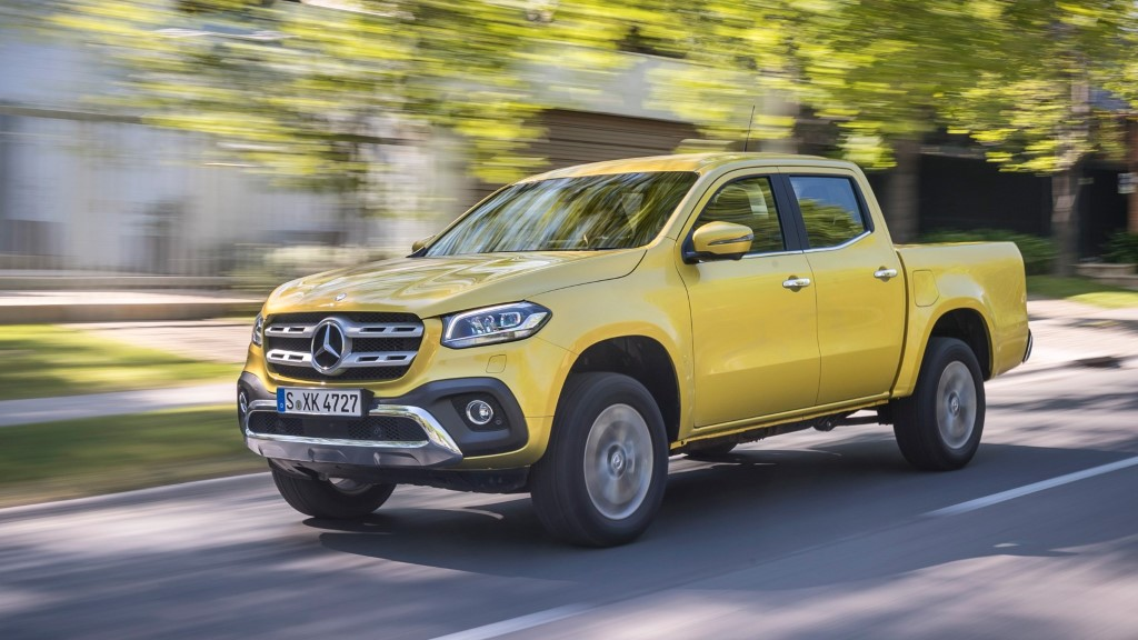 2020 Mercedes X-Class Pickup Review