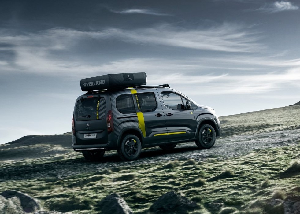 2020 Peugeot Rifter 4X4 Features