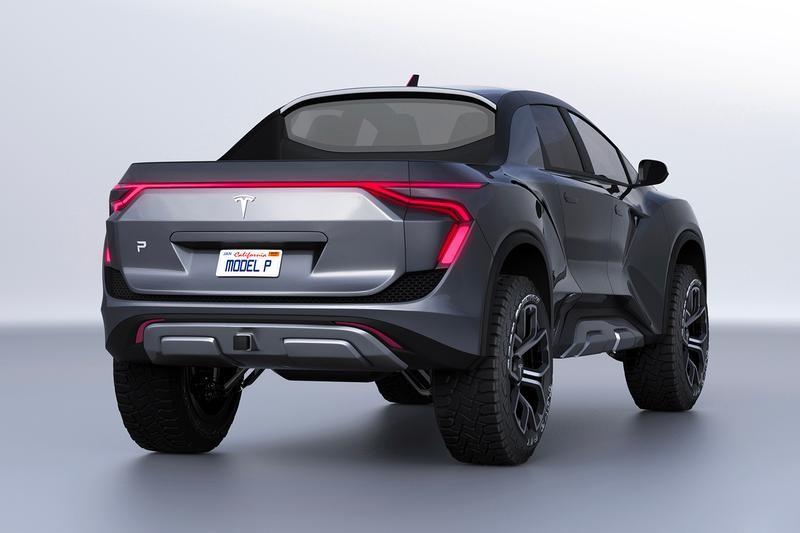 2021 Tesla Pickup Truck Exterior Photos