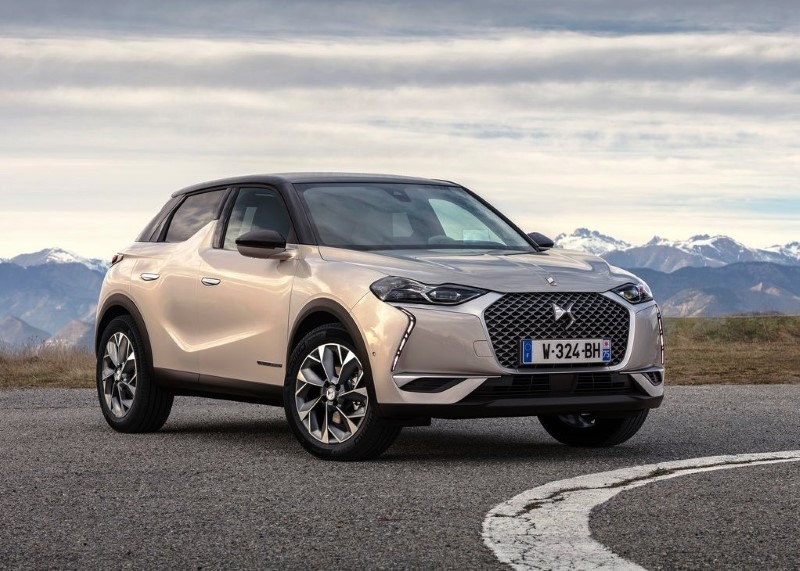 2020 DS3 Crossback E-Tense Dimensions