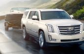 2021 Cadillac Escalade Towing a Boat