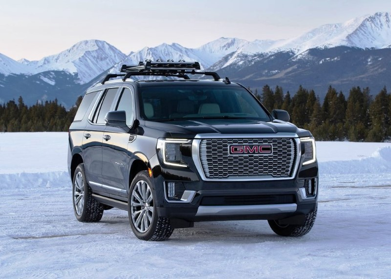 2021 GMC Yukon Denali Lease Deals
