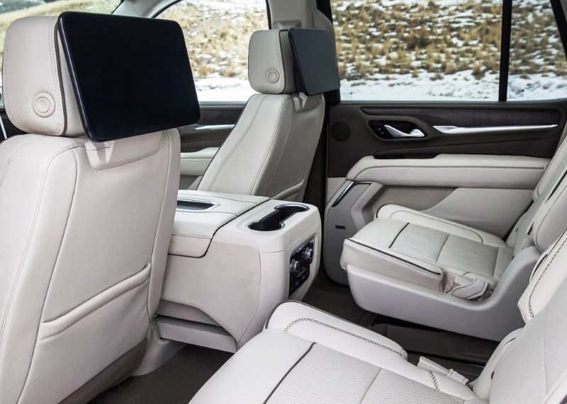 2021 GMC Yukon Denali Seating Capacity & Features