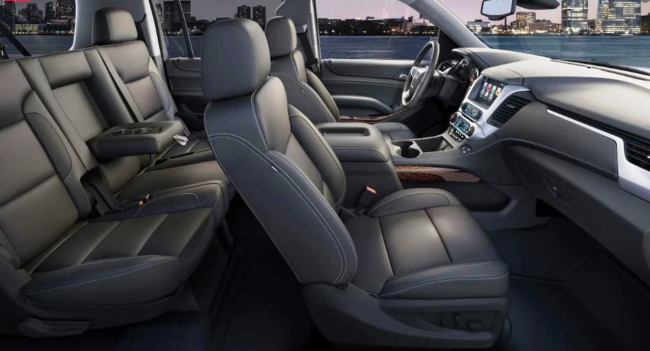 2021 GMC Yukon Interior Capacity with 7 Seat Passenger