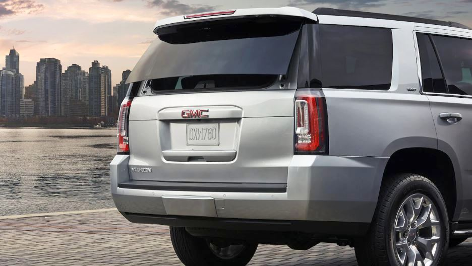 2021 GMC Yukon Rear Angle Changes With New Tail Light
