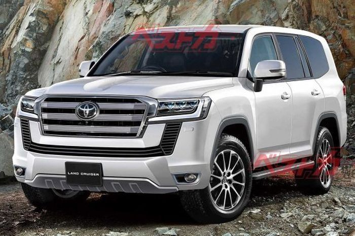2021 Toyota Land Cruiser Render