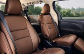 2021 Toyota Sienna Interior Seating With Premium Leather