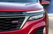 2021 Chevrolet Equinox RS Front Grill and Headlamp