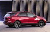 2021 Chevrolet Equinox Red Color RS Versions