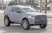 2021 Ford Courier Spied Images