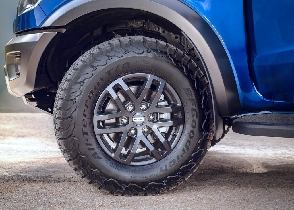 2021 Ford Raptor Wheel Size & Groun Clearance