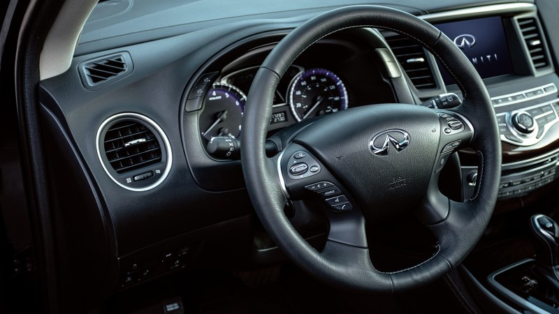 2021 Infiniti QX60 Interior Steering and Features