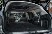 2021 Infiniti QX60 Trunk Space Capacity