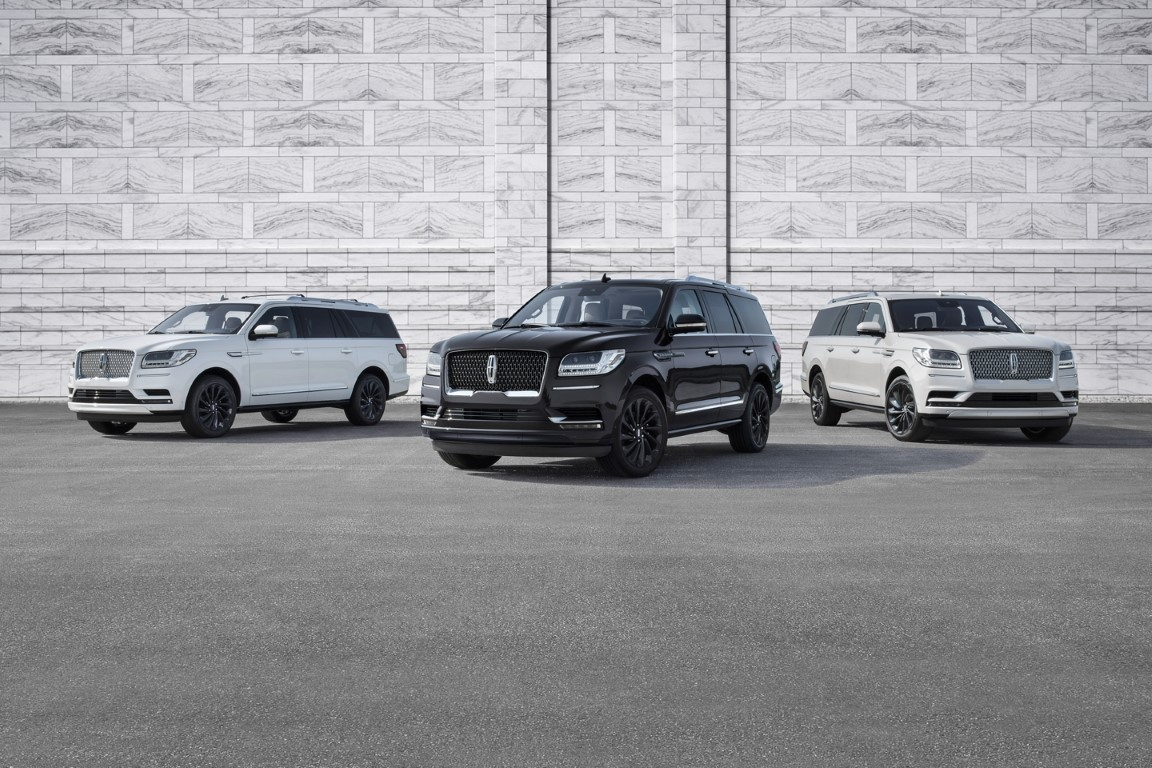2021 Lincoln Navigator Monocrome Series Including New Black Label
