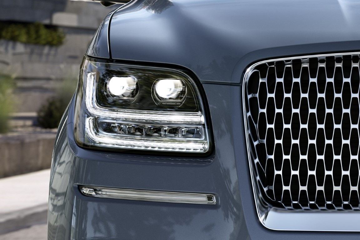 2021 Lincoln Navigator New Adaptive Headlamps