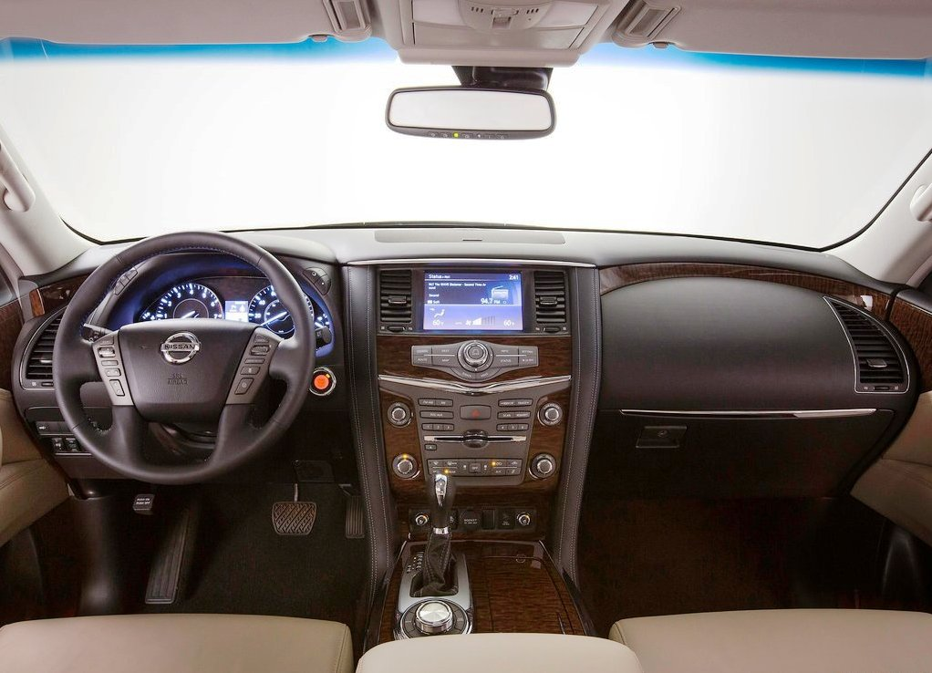 Current Nissan Ardmada Interior