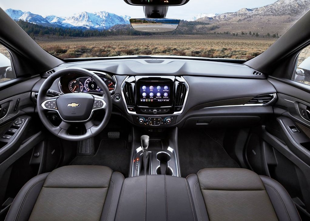 2021 Chevy Traverse Interior Dashboard