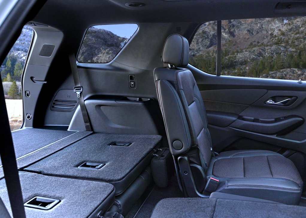 2021 Chevy Traverse Seat Configurations