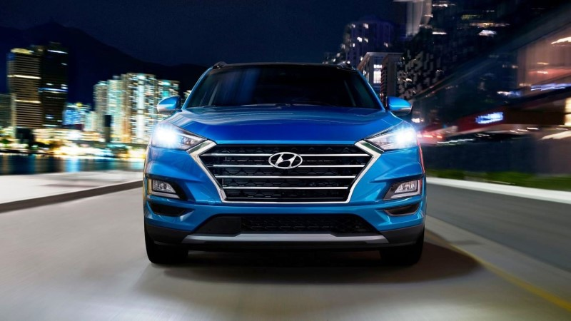 2021 Hyundai Tucson Redesign Front Angle
