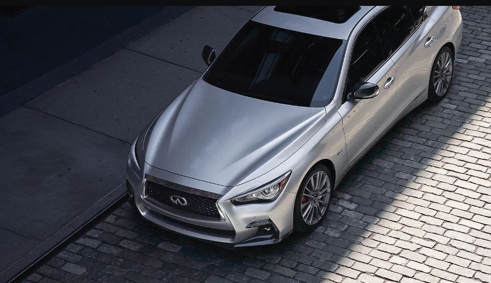 2021 Infiniti Q50 Hybrid Engine Review - Silver Colors