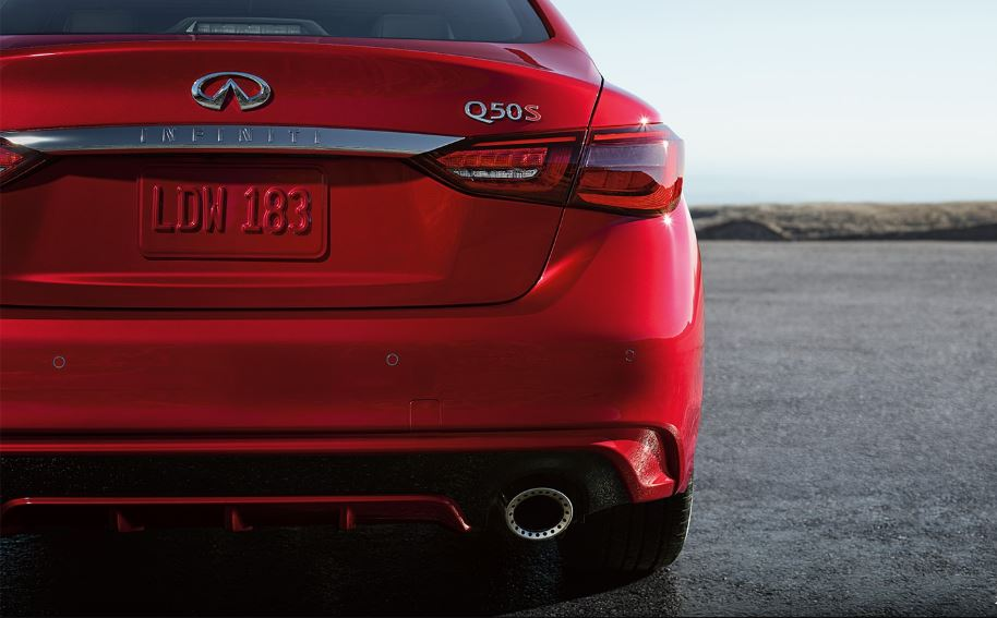 2021 Infiniti Q50s Red Colors