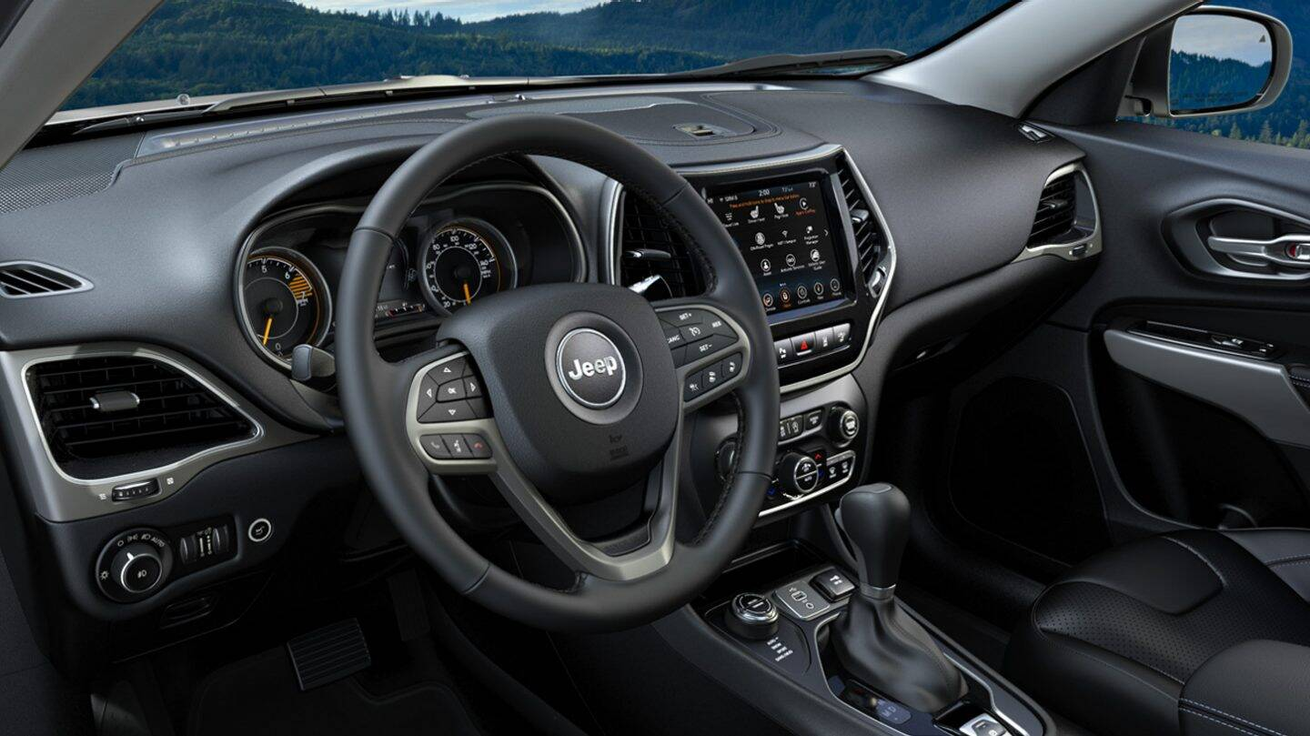 2021 Jeep Cherokee Interior Colors