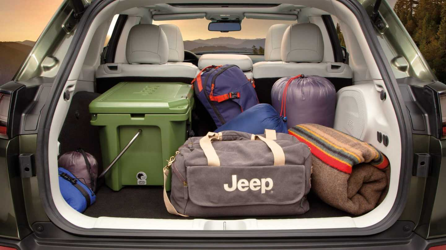 2021 Jeep Cherokee Trunk Volume Capacity