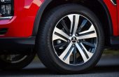 2021 Mitsubishi Outlander Wheel Size and New Deisgn with two tone color