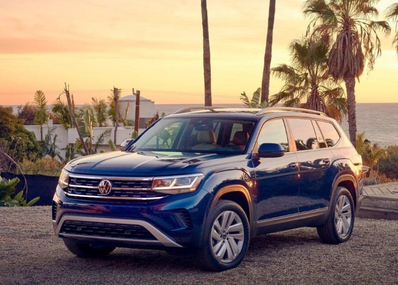 2021 VW Atlas Changes Exterior