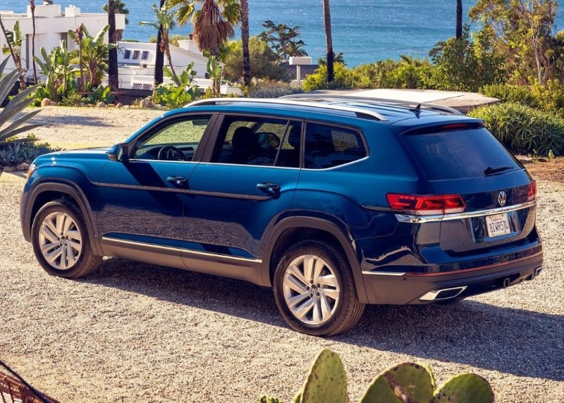 2021 VW Atlas Dimensions