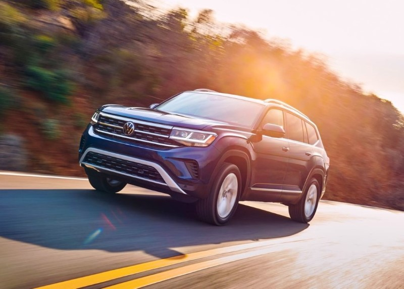 2021 VW Atlas Fuel Economy in MPG
