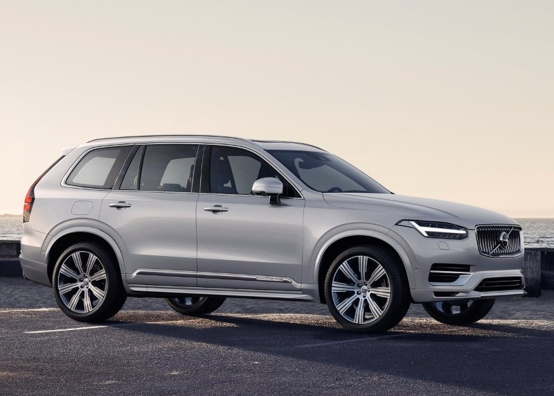 2021 Volvo XC90 Hybrid Engine