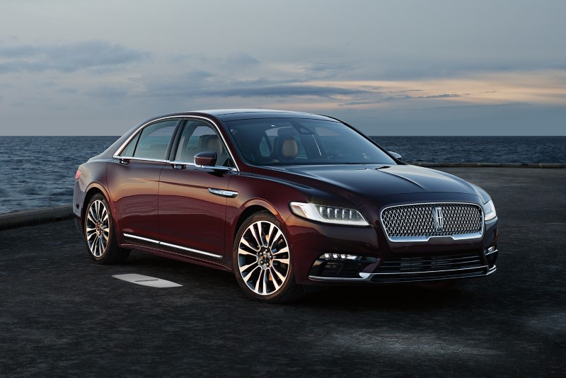 2021 Lincoln Continental Exterior Changes