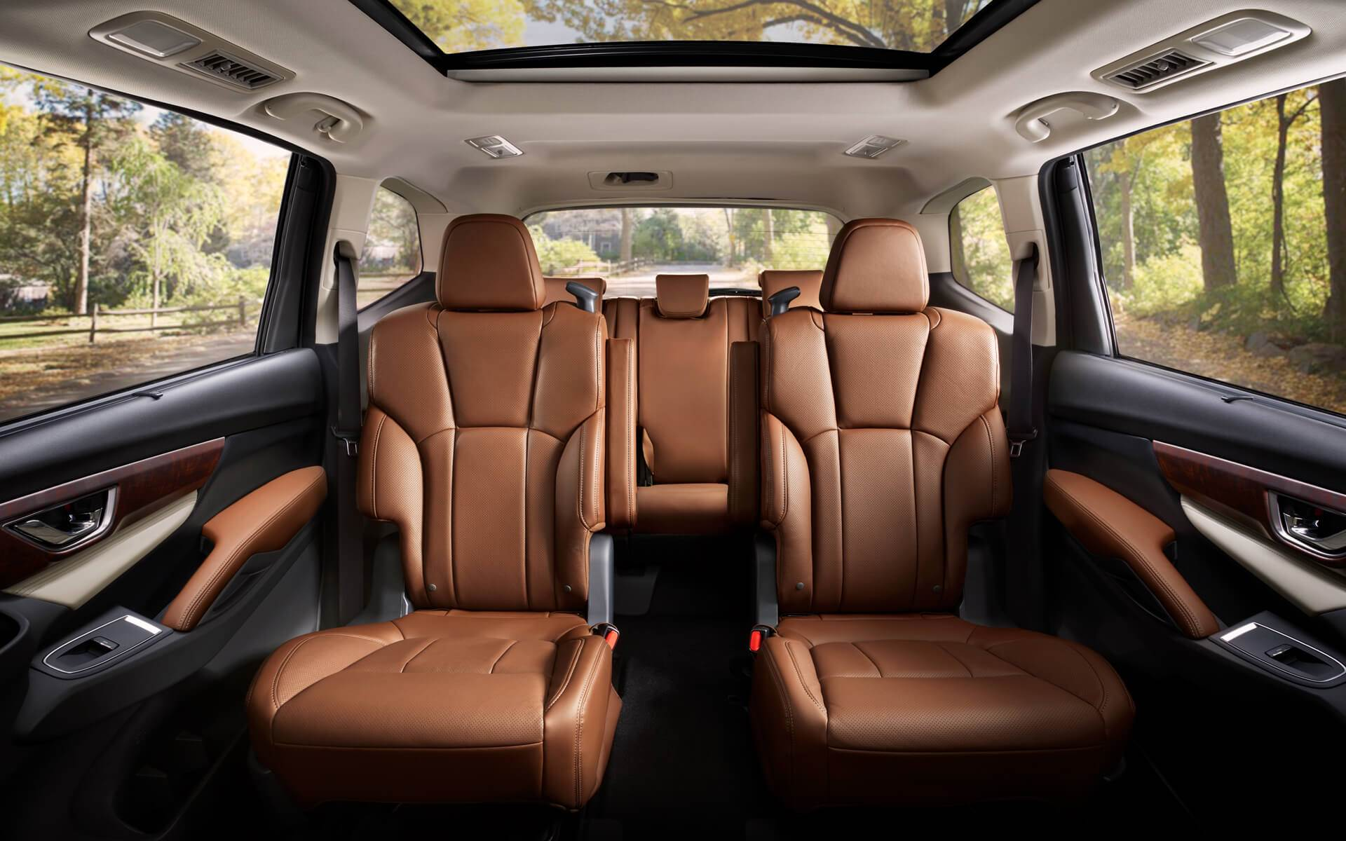 2021 Subaru Ascent 3rd Row Interior