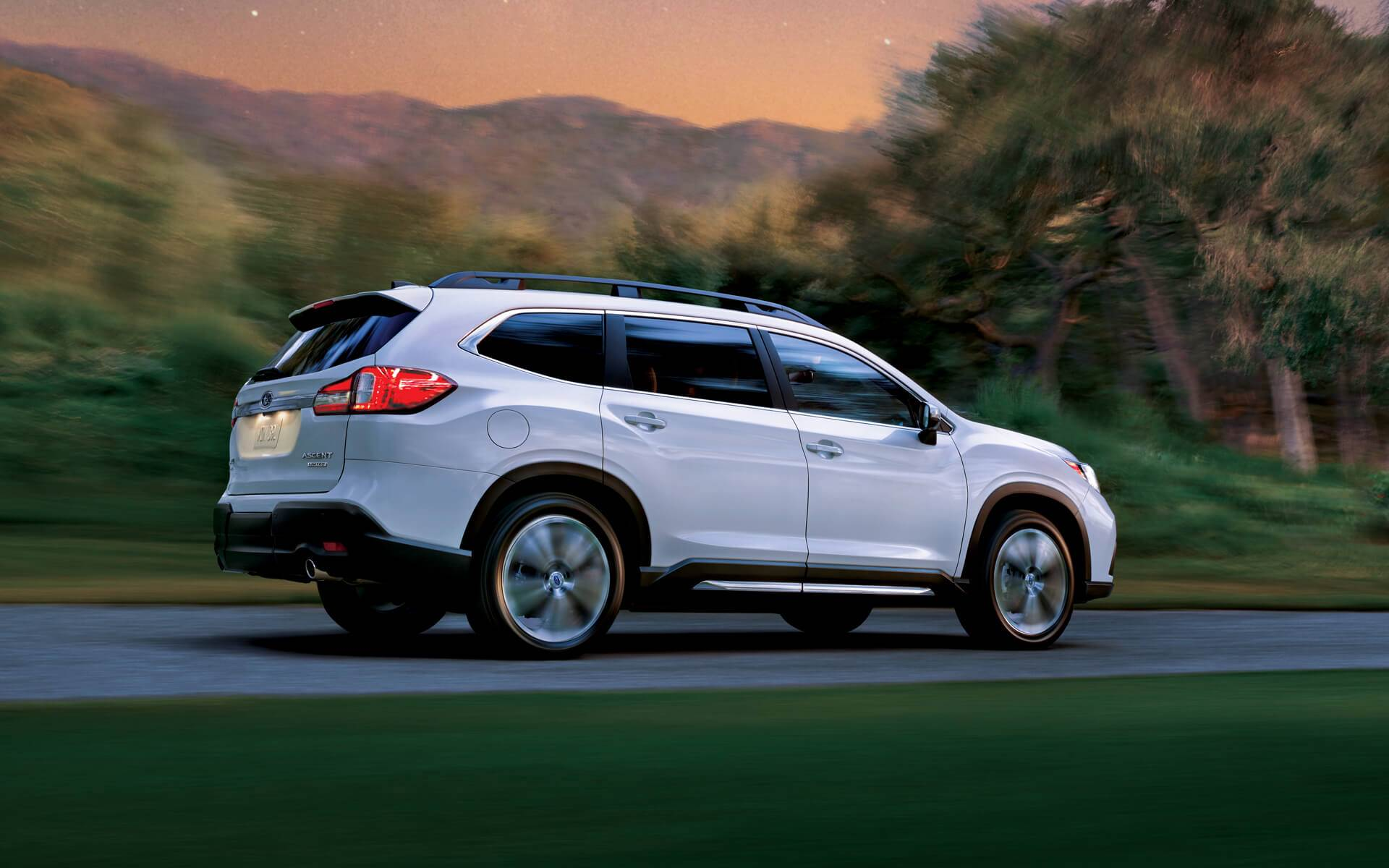 2021 Subaru Ascent Changes Exterior